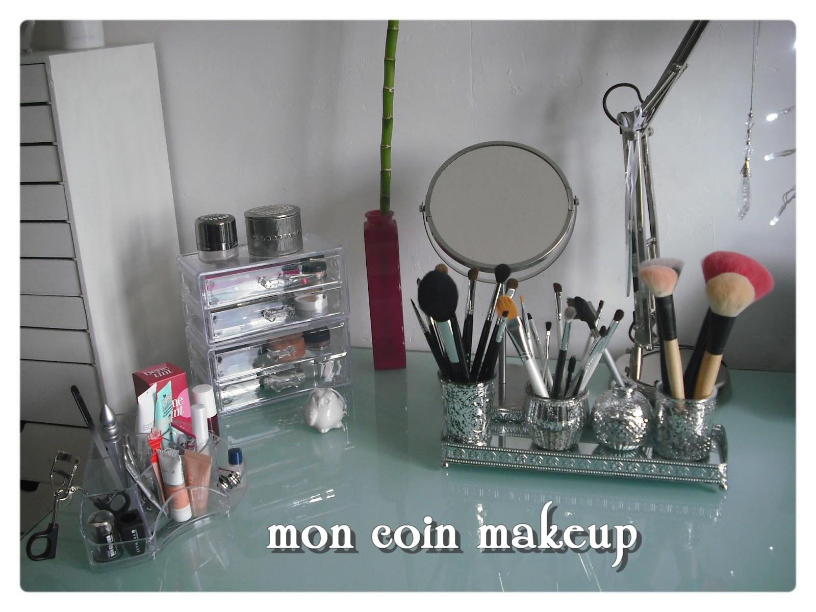 mon nouveau rangement makeup je veux tout tester blog beaut mode et lifestyle n mes. Black Bedroom Furniture Sets. Home Design Ideas
