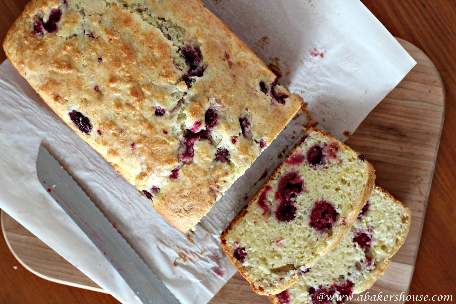 Raspberry Quick Bread for #TwelveLoaves April | A Baker's House