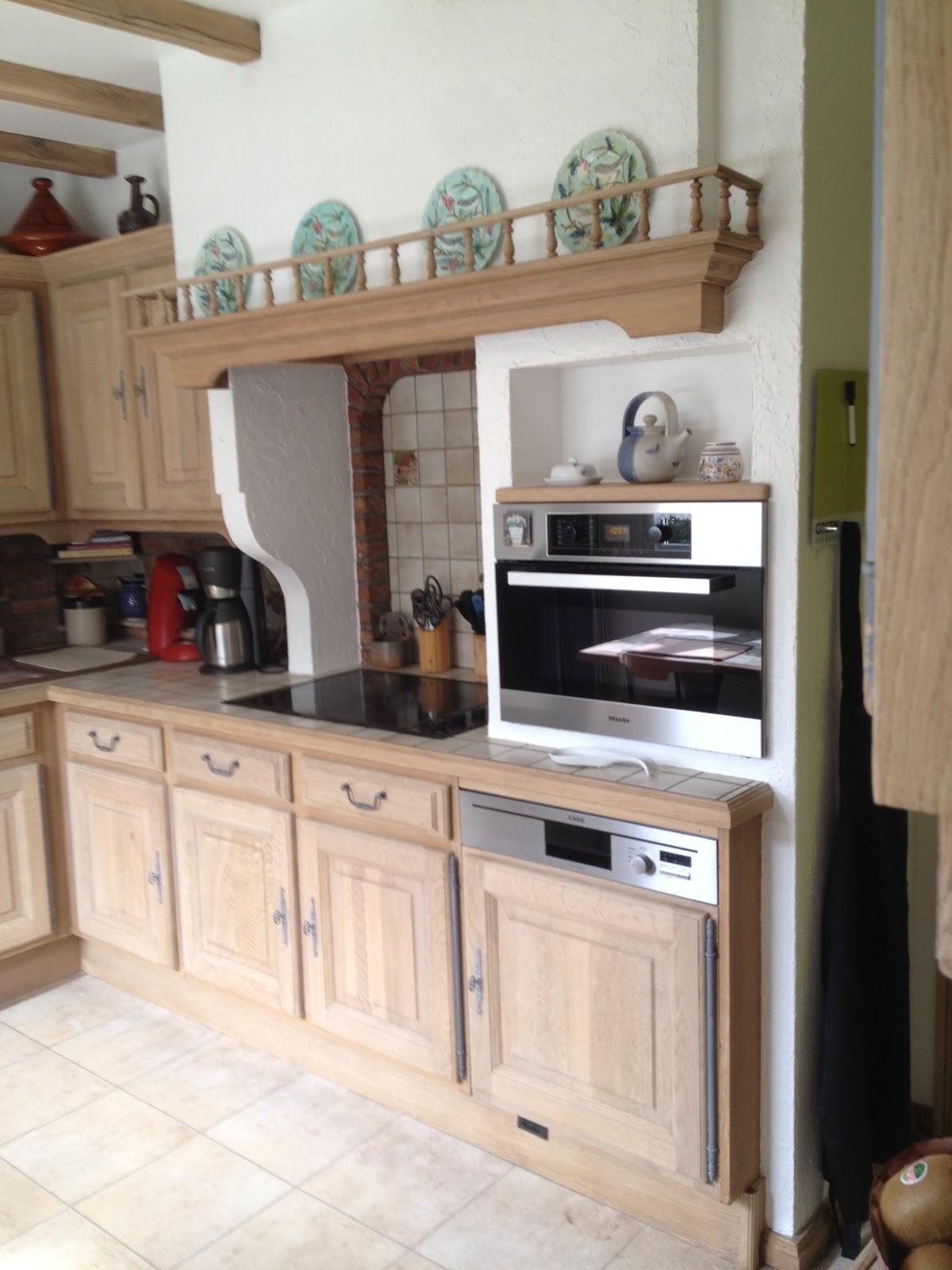 Zandstralen, renoveren van eiken keuken kortrijk