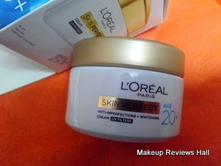Loreal Skin Perfect Crem 20+ Review