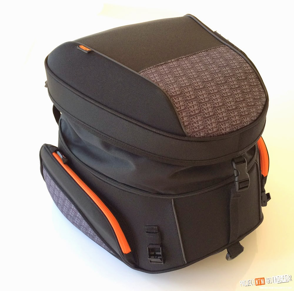 KTM powerparts large rear bag extended