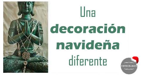 Deco navide a original decoraci n patri blanco for Decoracion navidena original