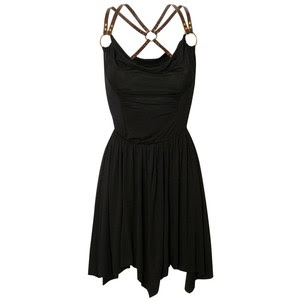 BANK Fashion Black Dress