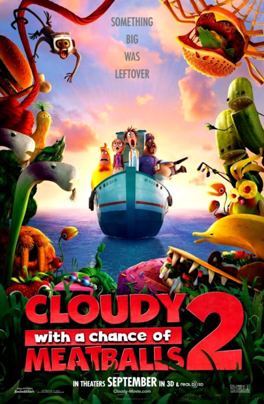 Cloudy with a Chance of Meatballs 2 Movie Wallpaper 1