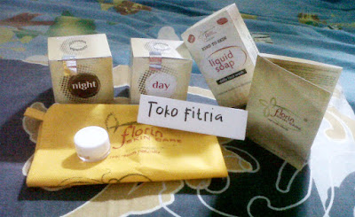 Florin paket normal Toko Fitria Untuk memutihkan kulit dan menghilangkan flek hitam di wajah