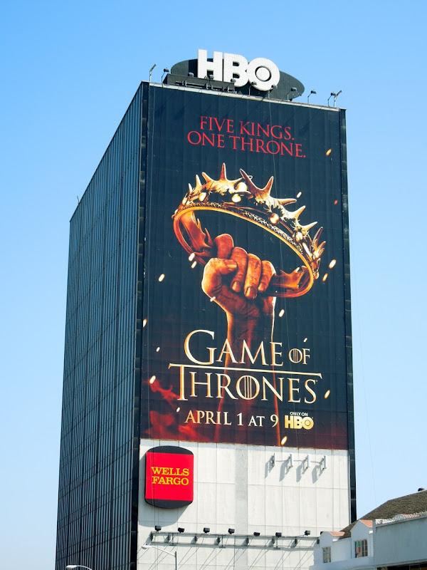 Giant Game of Thrones 2 billboard