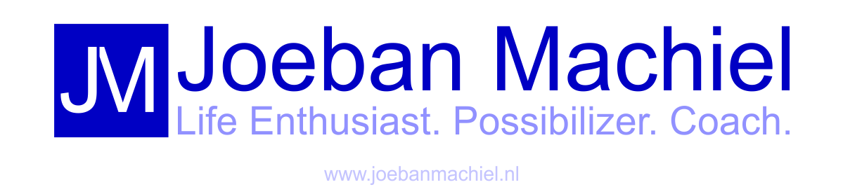 Joeban Machiel. Life Enthousiast. Possibilizer. Coach.