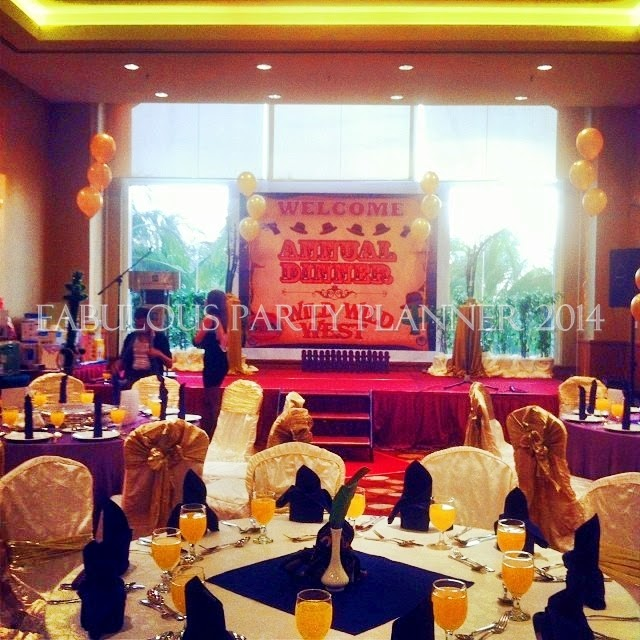Fabulous party planner 002081333 d event services and for Annual dinner decoration