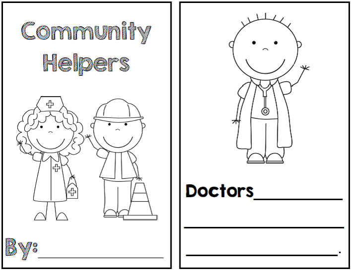 http://www.teacherspayteachers.com/Product/Community-Helpers-1092237