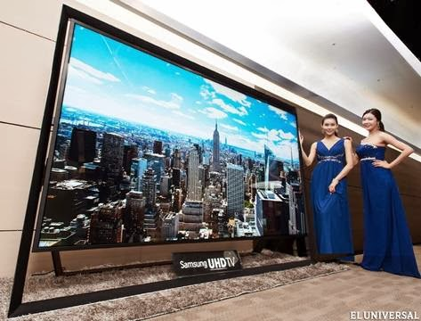 Samsung launched world's largest TV 110inches