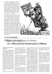 EL REVISIONISMO, PELIGRO PRINCIPAL PARA LA VICTORIA DE LA REVOLUCIN DEMOCRTICA CHILENA