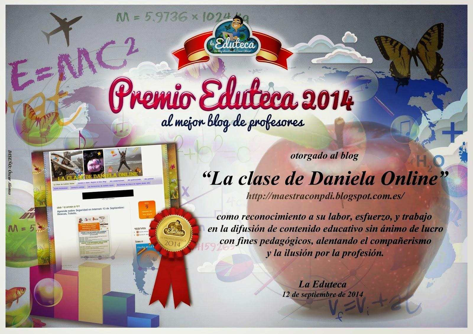 Mejor Blog de Profesores 2014