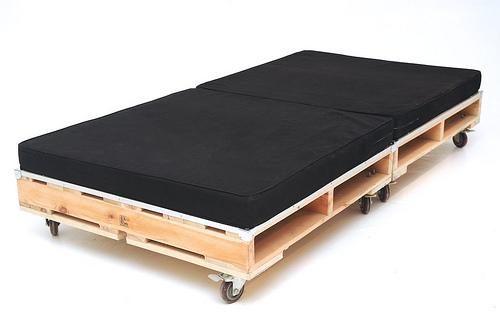 Un rinc n de mi casa cama con palets - Cama con palets ...
