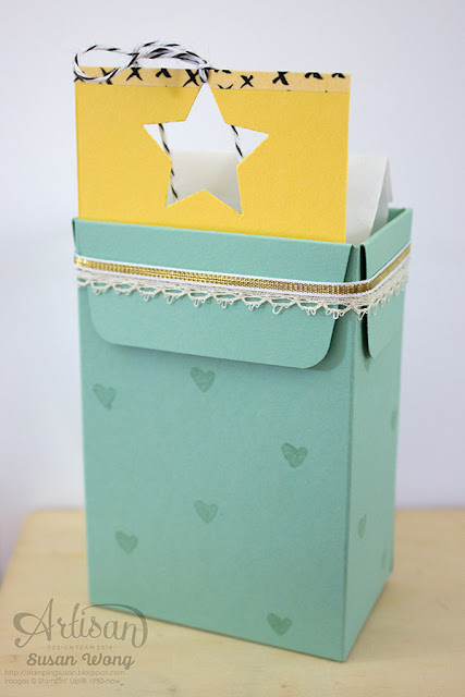 Cheers Gift Box (back) ~ Susan Wong