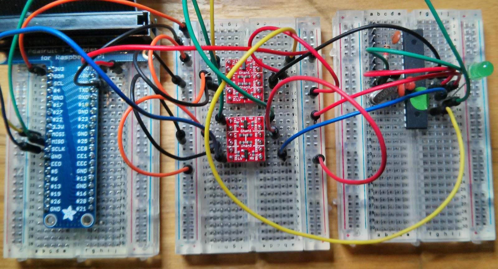 Rareblog Using The Raspberry Pi Spi As An Avr Isp In System Programmer Sytem For Atmel