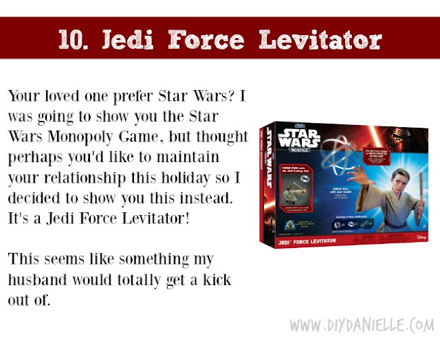 Holiday Gift Idea for Adults: Jedi Force Levitator