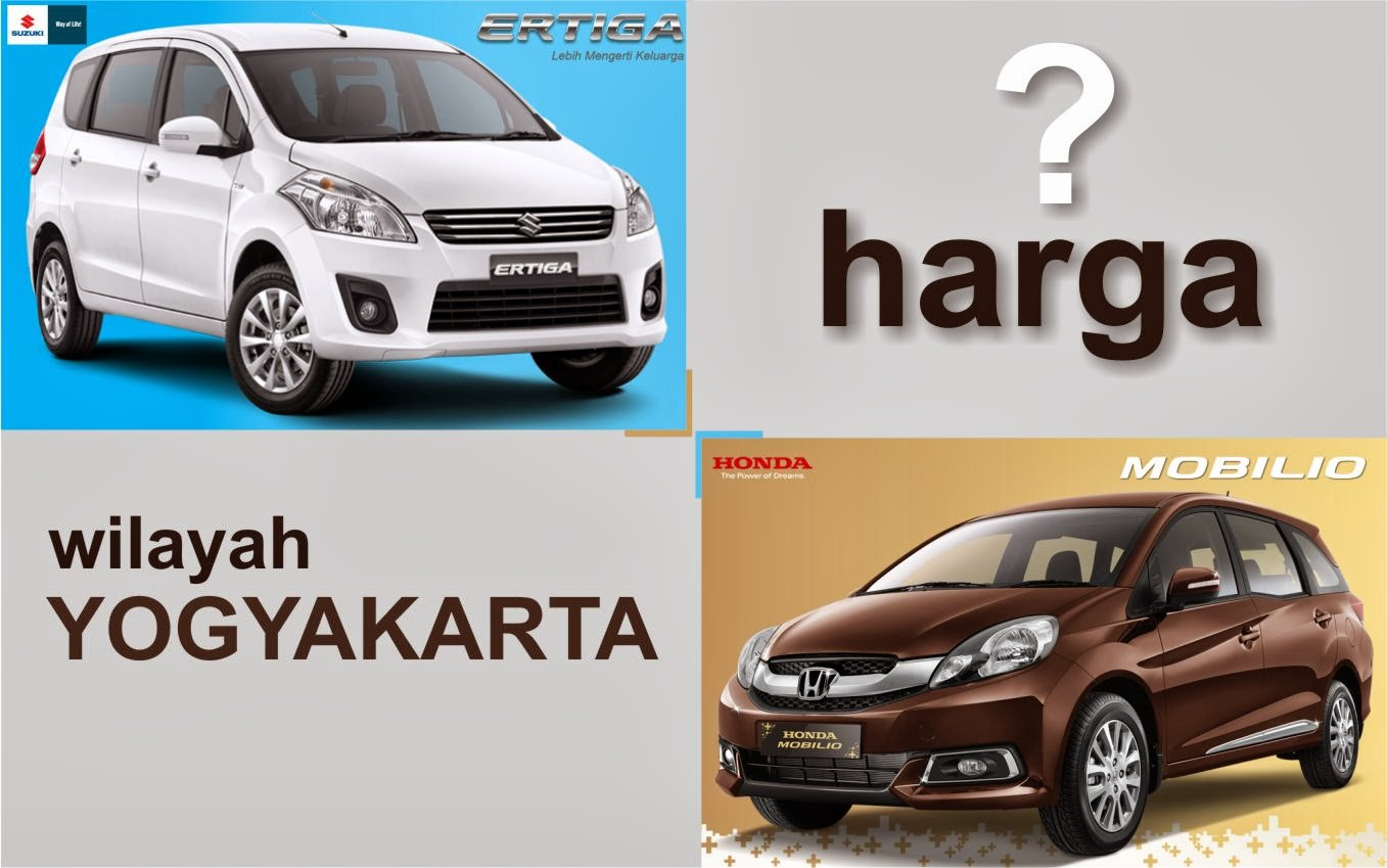 perbandingan harga kredit ertiga mobilio di jogja suzuki. Black Bedroom Furniture Sets. Home Design Ideas