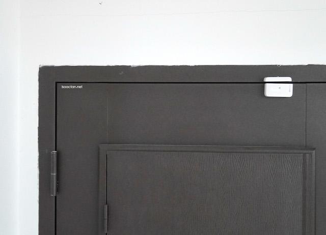 Fix the sensors at your door or window