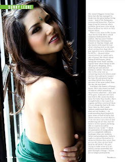 Sunny Leone in FHM India May 2012- Indian Hot Woman Looks