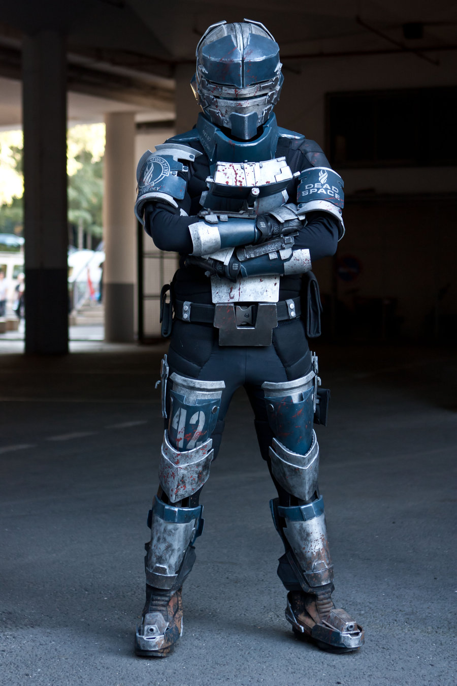 quiet and red dead space cosplay