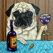 Me enjoying a glass of pinot noir