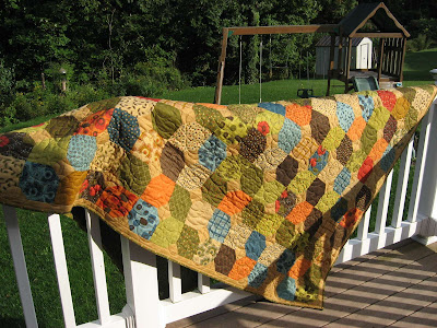 Tranquility Quilt ~ Finished!