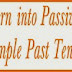 Active to Passive Exercise-Simple Past Tense