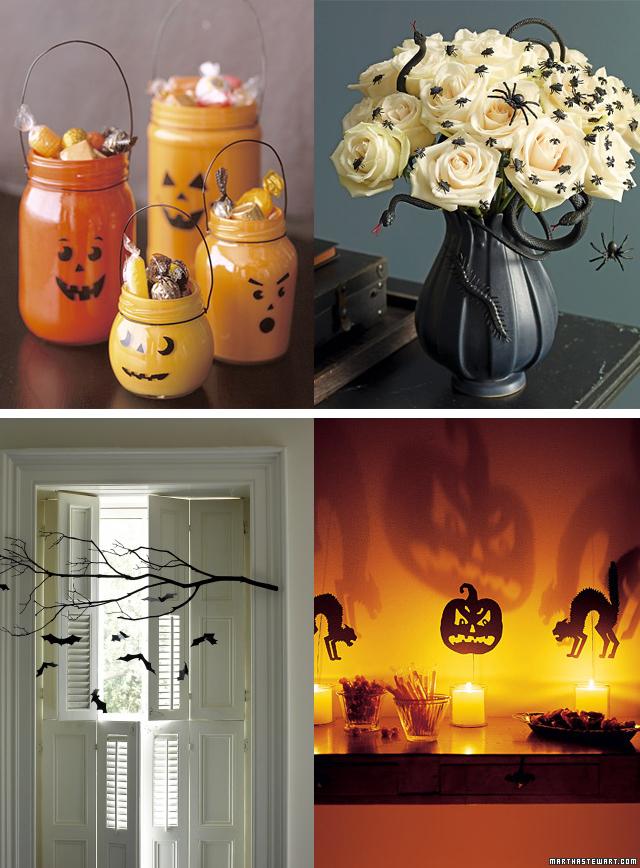 Casa de Colorir Ideias para o Dia das Bruxas (e uma surpresa) -> Decoração Simples De Halloween