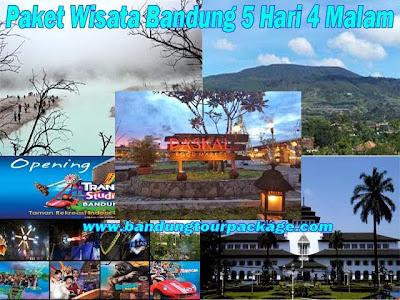 Paket Wisata Bandung 5 Hari 4 Malam