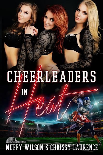 Cheerleaders in Heat Book Blitz