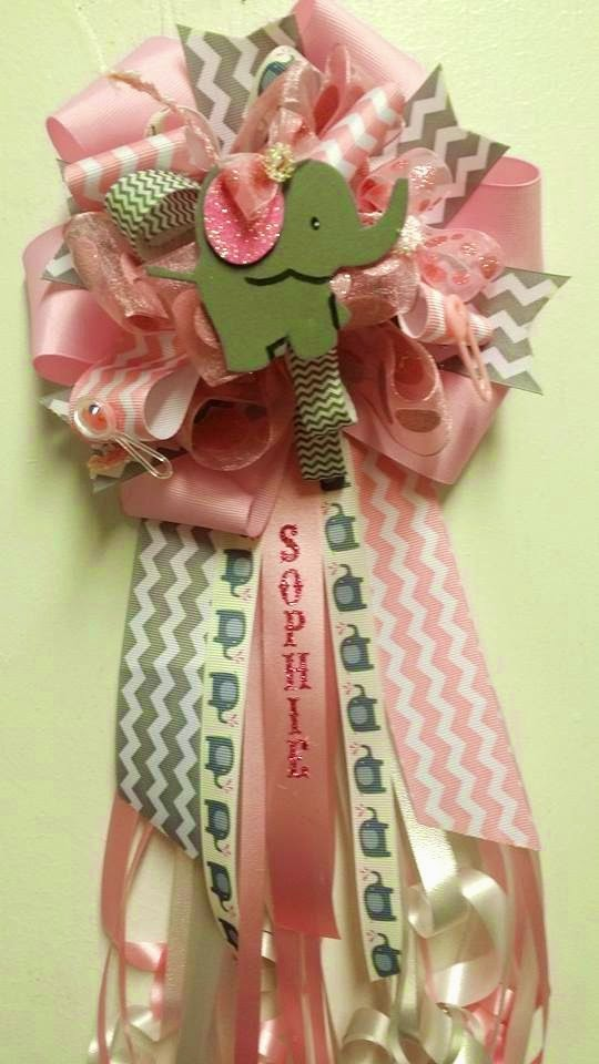 Mom Corsages. Family Theme Corsages. Baby Shower ...