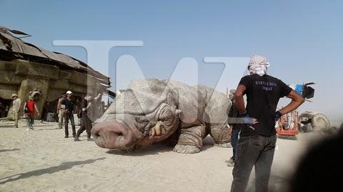 Foto del rodaje de Star Wars Ep. VII