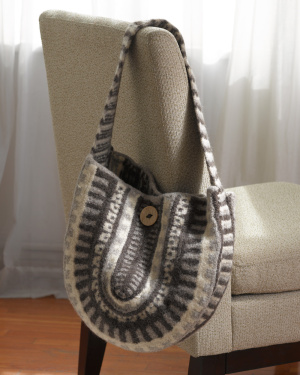 Free Knitting Pattern Felted Bag : Miss Julias Patterns: Free Patterns - 20 Bags to Knit