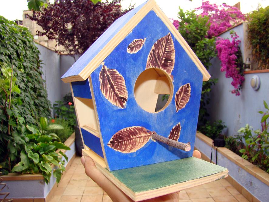 Por si te ayuda haz tu propia casa de p jaro para jard n - Haz tu propia casa ...