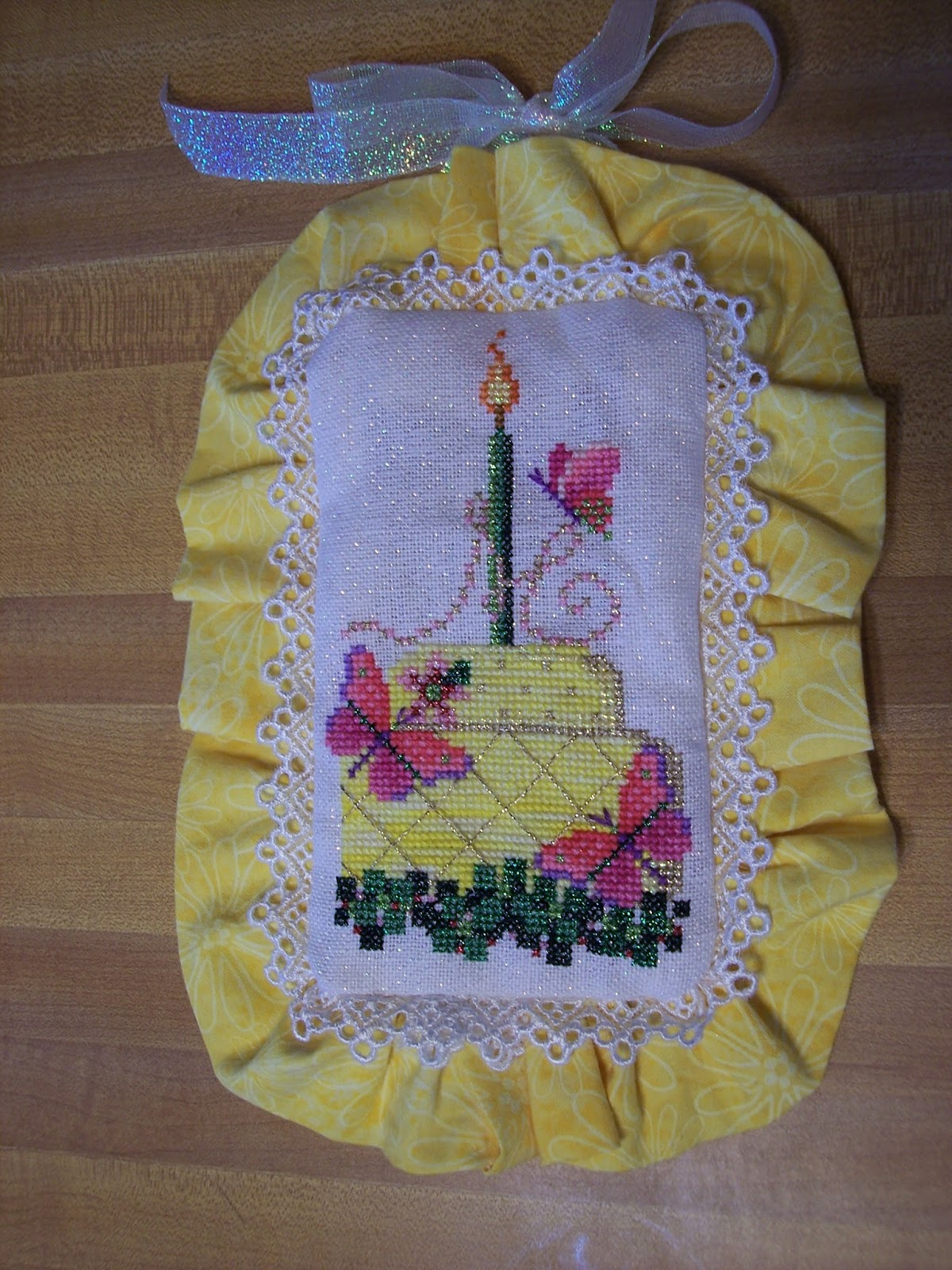 Birthday Cakes Quakers Hill ~ The happy stitcher finished works and older projects