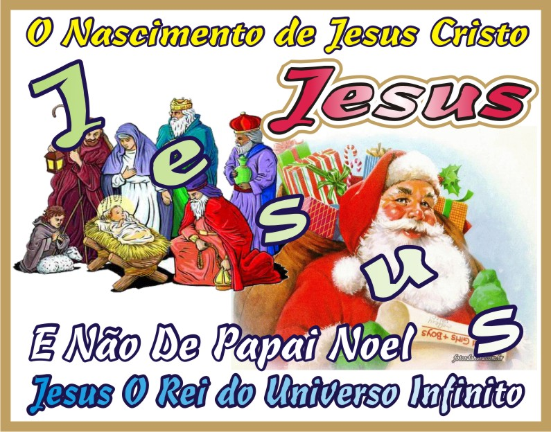 Natal O Nascimento de Jesus Cristo