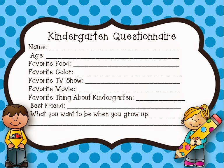 Student Questionnaire - Mrs. B's Beehive