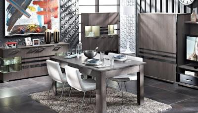 Do%C4%9Fta%C5%9F Yemek Odalar%C4%B1 Modelleri 550x314 Tepehome yemek odası modelleri
