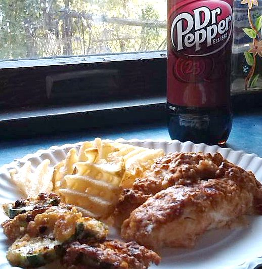 Make easy Dr Pepper® chicken tenders at home