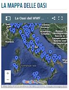 LA MAPPA DELLE OASI DEL WWF ITALIA