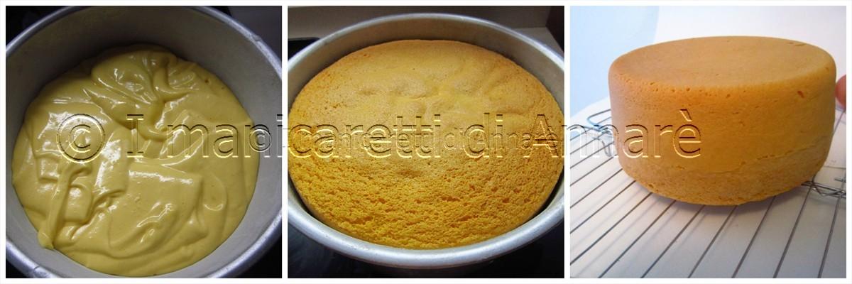 Pan di spagna senza lievito altissimo da i manicaretti di annar su akkiapparicette - Glassa a specchio su pan di spagna ...