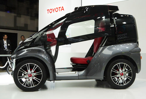 ELECTRONIC CAR FROM TOYOTA AND MICROSOFT: Intelligent Computing