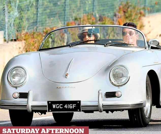 Exhaust Pipe Dreams Simon Cowell S Porsche Speedster