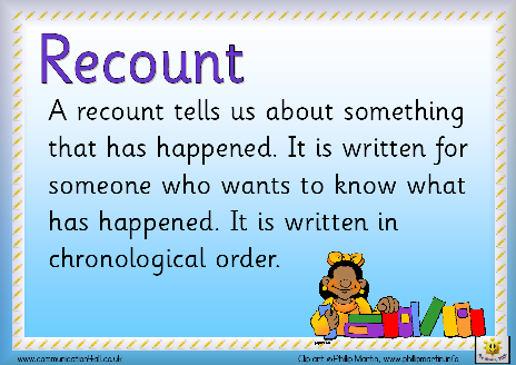 Contoh Recount Text Share