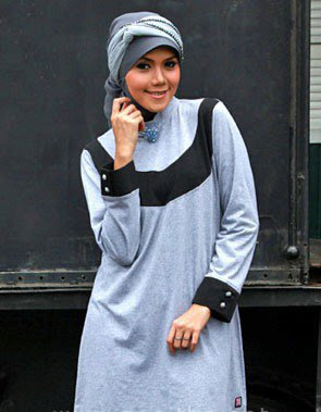 Zenitha Collection Blouse Muslimah Modern ZN 18 A
