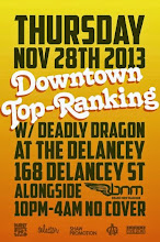 11/28(Thu)Downtown Top Ranking Thanks Giving Night Special @The Delancey