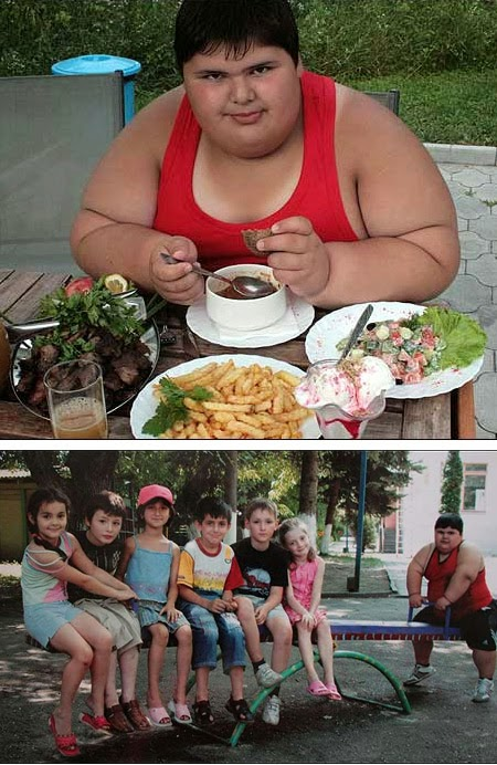 Quantidade de meninas obesas no mundo está aumentando