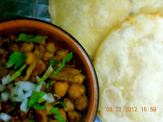 spicy chole