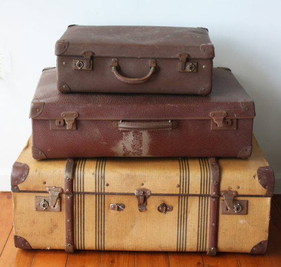 Cheap Old Fashioned Suitcases