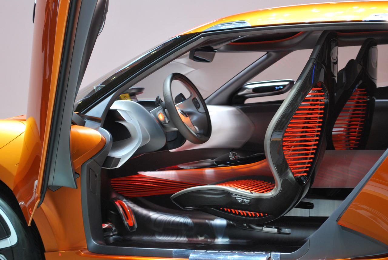 Renault Captur Concept Interior Renault Captur Interior Design
